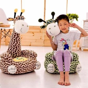 Fotoliu Din Plus Girafa Maro Cadou Best Toys
