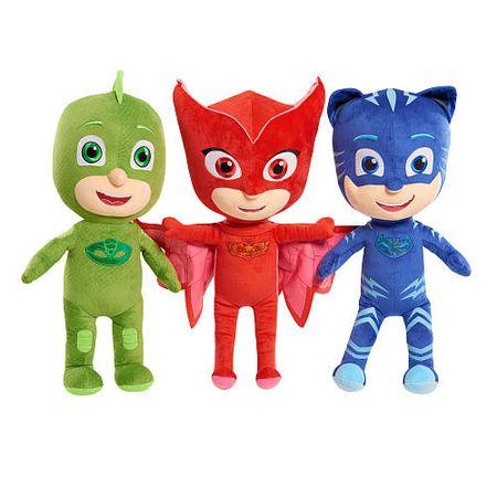 6ชิ้นเด็กการ์ตูนทำมือตัวการ์ตูนตุ๊กตาสามสีรถของเล่นตุ๊กตา