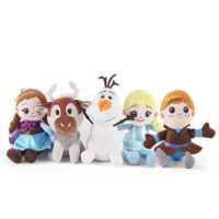 set 5 jucarii din plus frozen